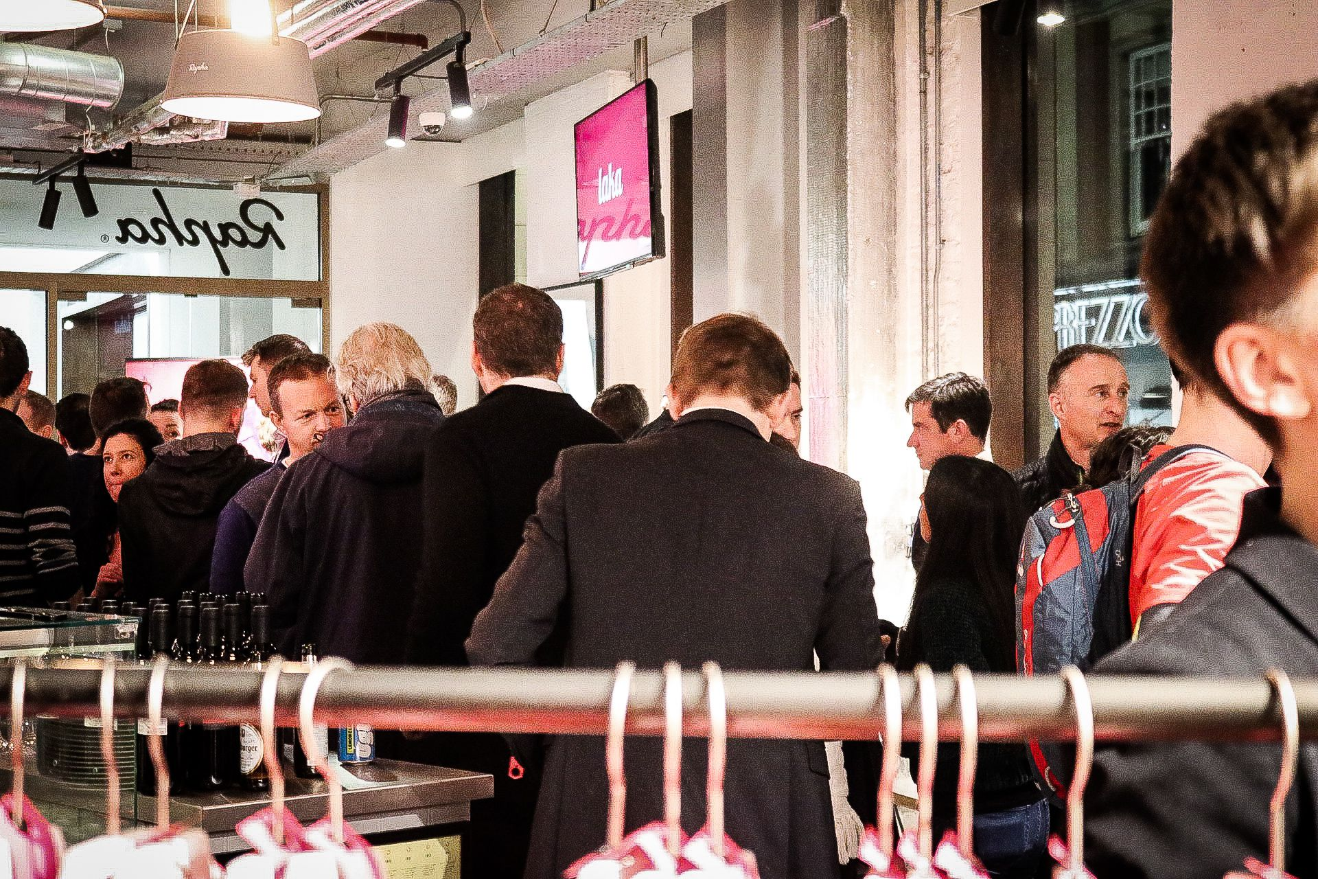 The Laka Team celebrates its 1st launch anniversary at Rapha Soho.