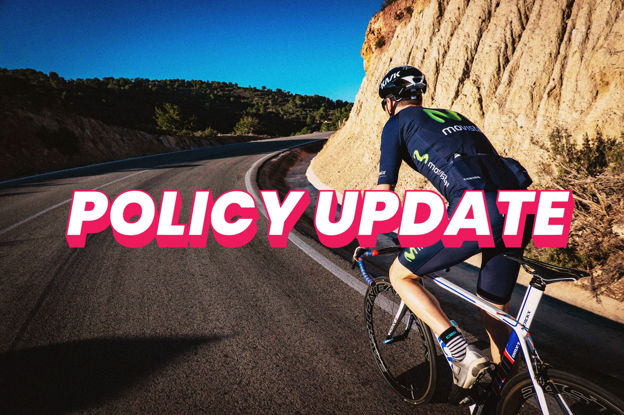 Your bicycle cover get's an update - Five new policy features you should read today
