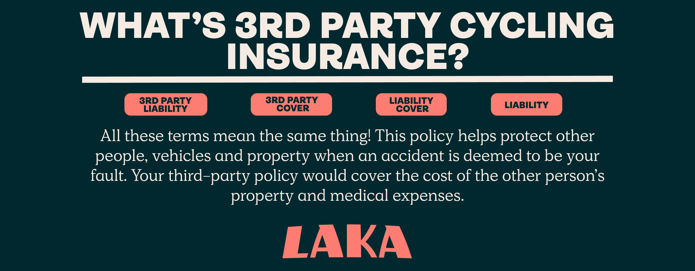 What is third party cycling insurance?