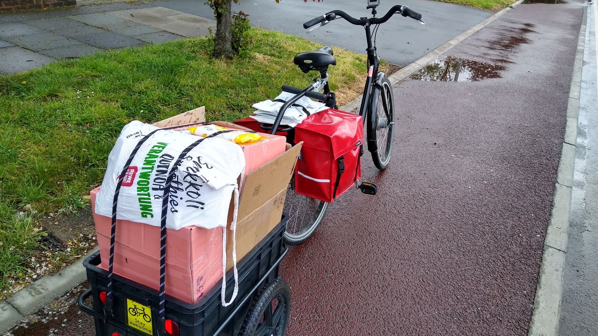 The cargo bikes keeping us moving during a crisis