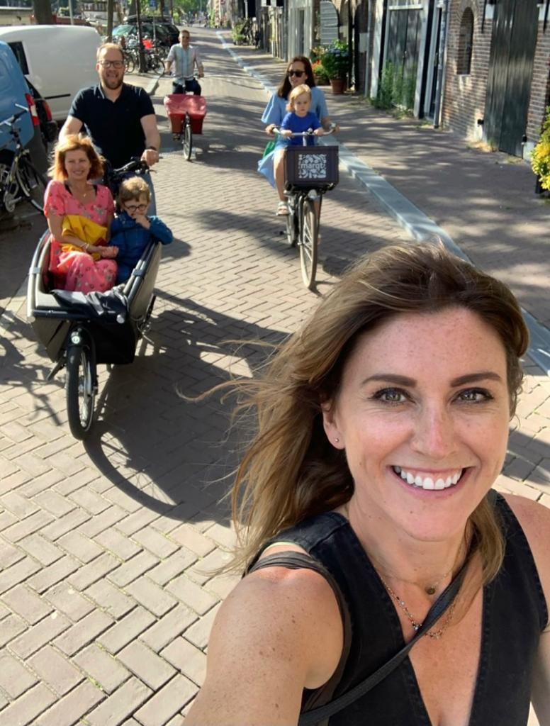 Living the cargo-bike life by Orla Chennaoui