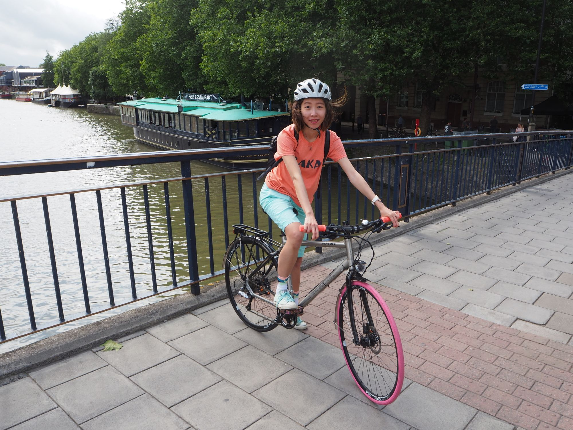 The women who are cycling for a greener city - Nicole