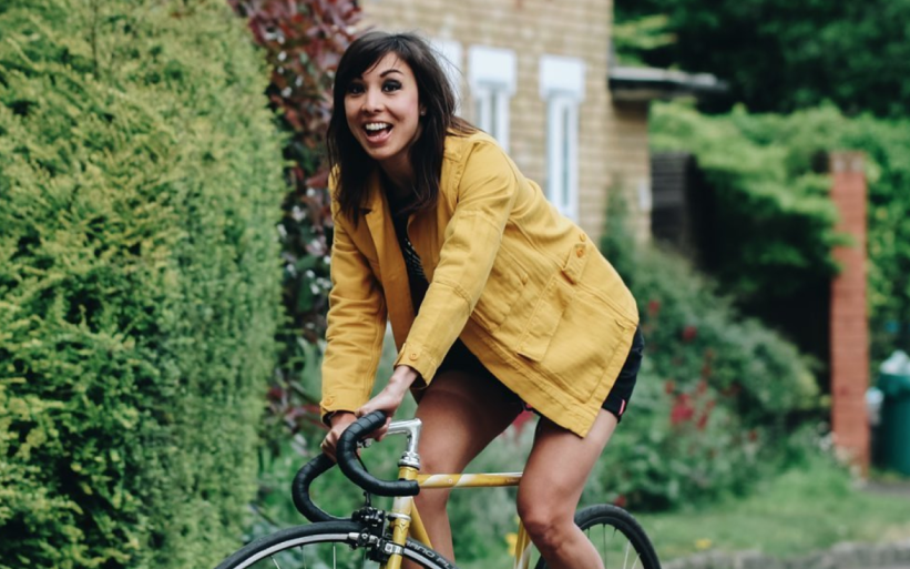 The women who are cycling for a greener city - Jess