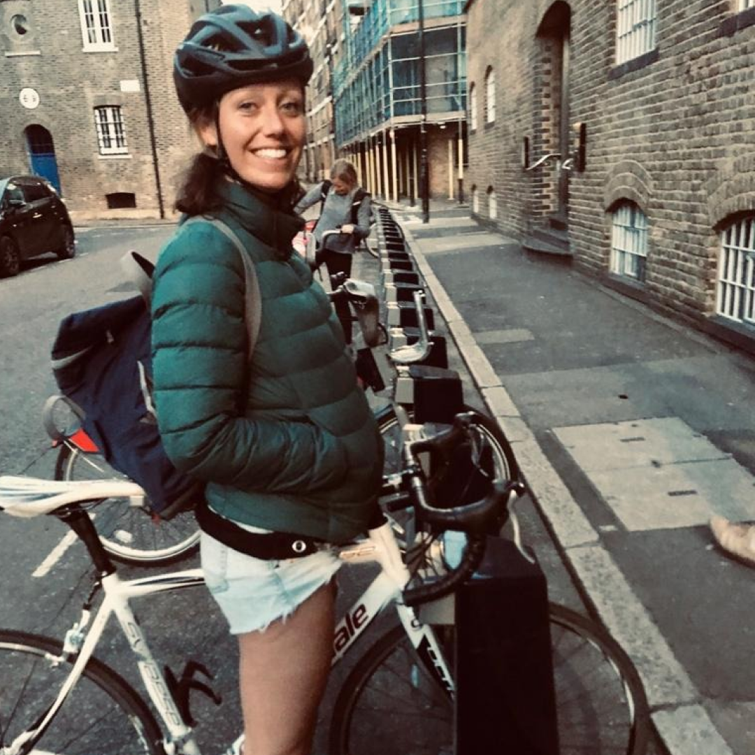 The women who are cycling for a greener city - Rebecca